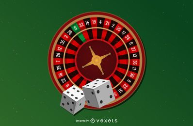 Fichas de poker de casino