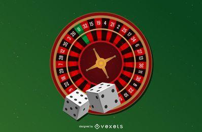 Fichas de Poker do Casino