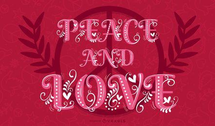 Corazon de paz y amor