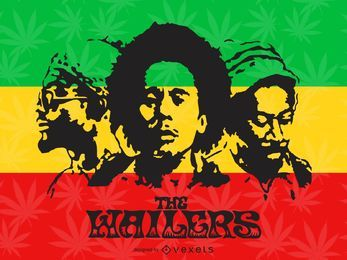 Das Wailers Poster
