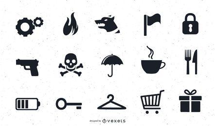 Mehrere Vektor Icon Art