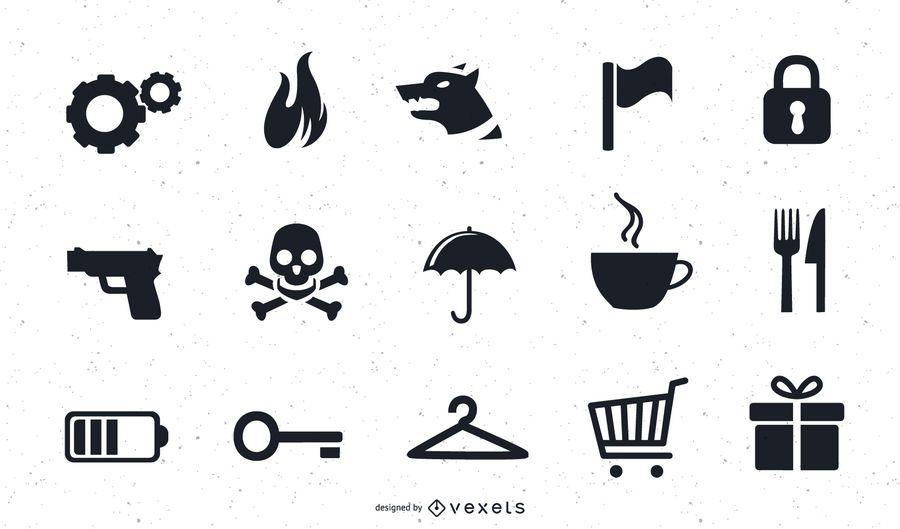 Varios Vector Icon Art