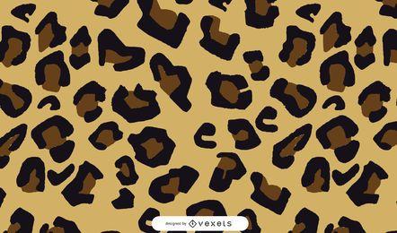 Leopard Splatter Vector