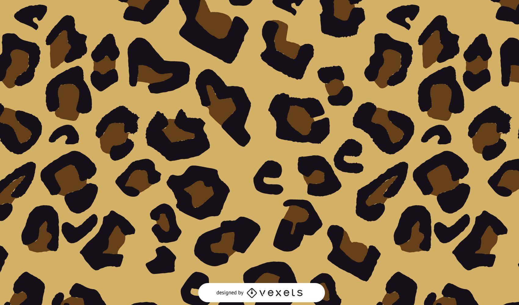 Leopard Splatter Vektor