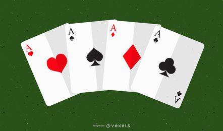 Poker-Karten