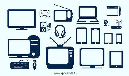 Pacote de dispositivos de tecnologia vetorial