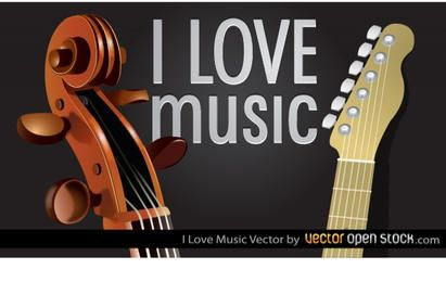 Eu amo a música