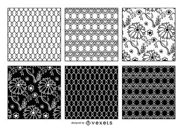 Laço e padrão entrelaçado