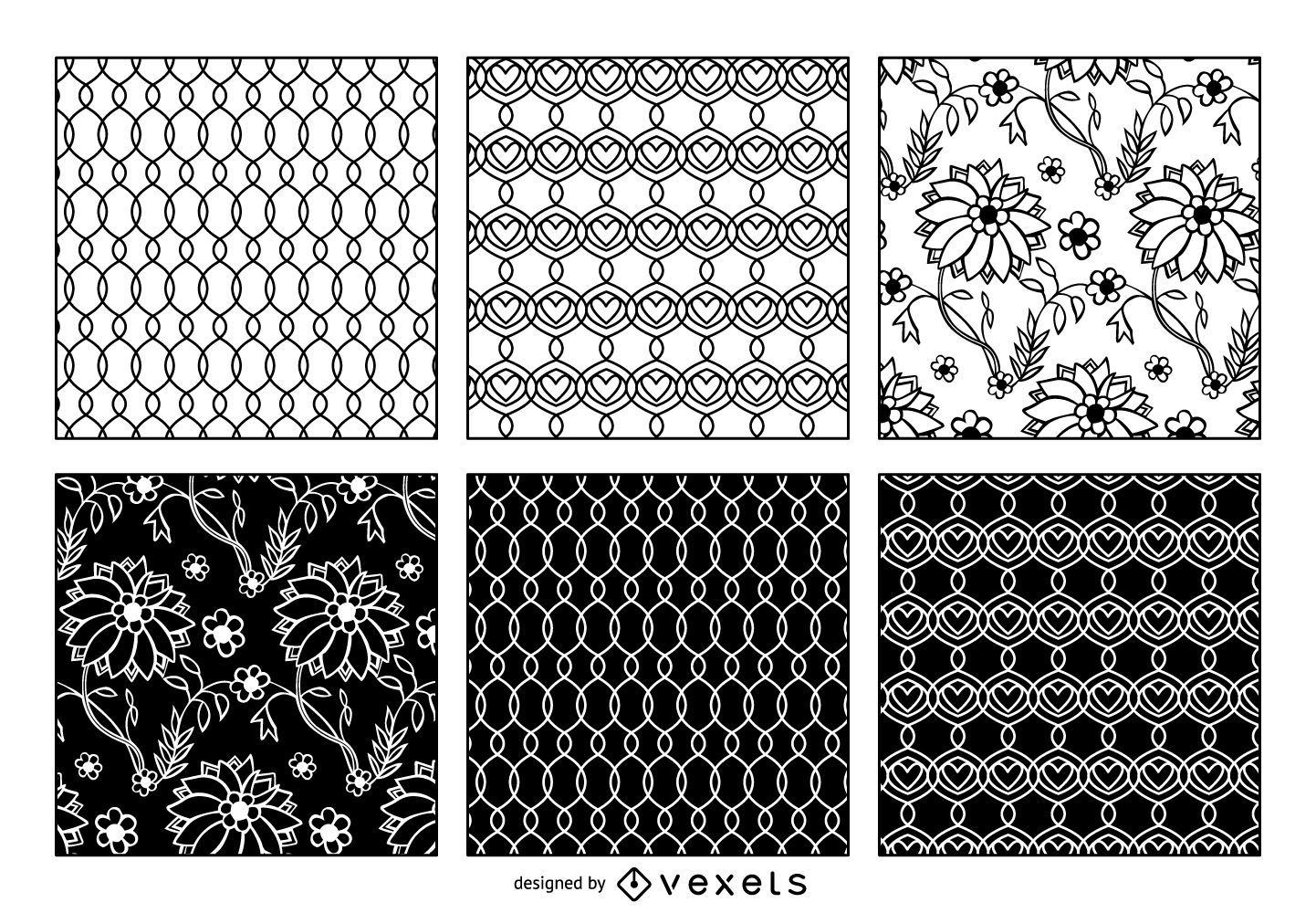 Lace and Intertwined Pattern