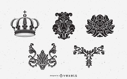 Elementos heráldicos medievais