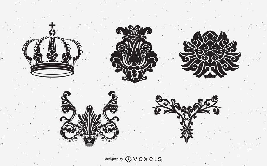 Medieval Heraldry Elements