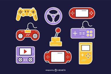 Vector de juego de controlador de juego