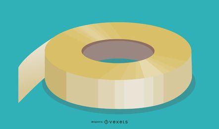 Paquete de vectores de cinta