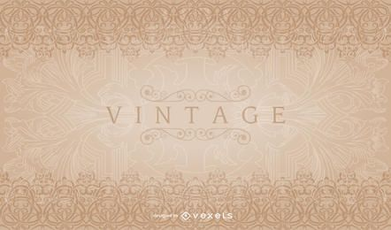 Vintage Decorative Border Pattern