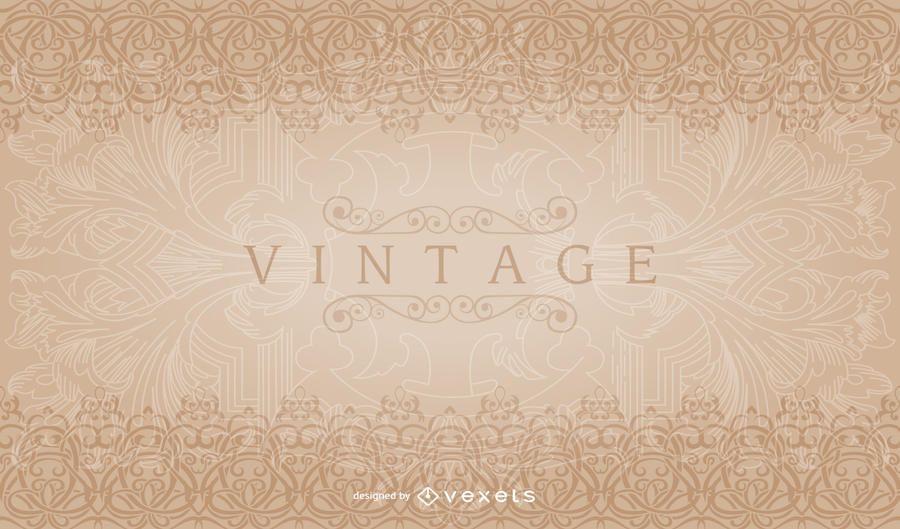 Vintage Decorative Border Pattern