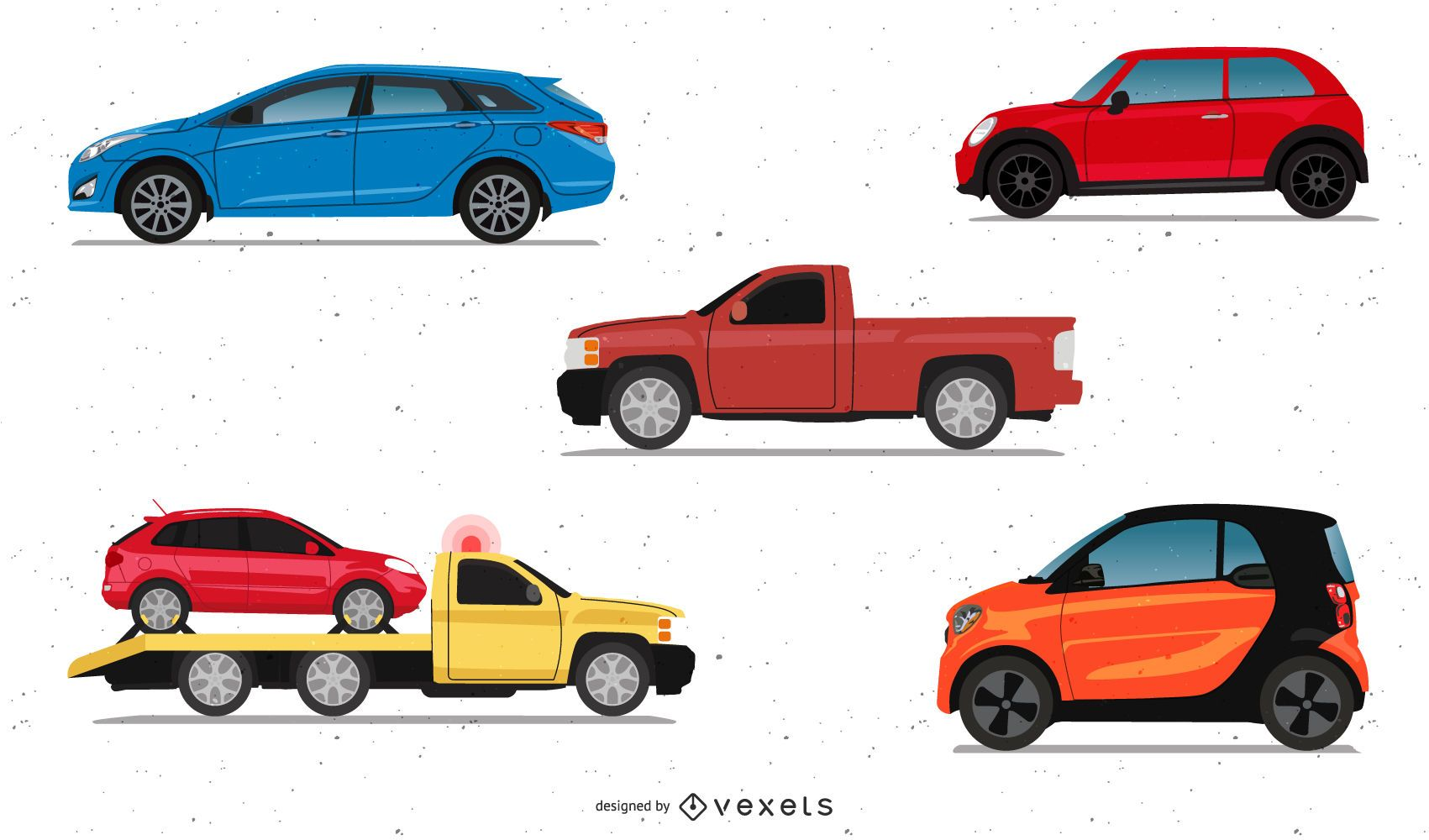 Paquete de coches realistas