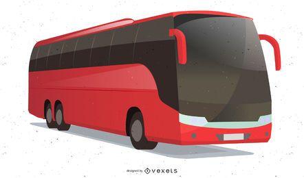 Vector de autobús de lujo