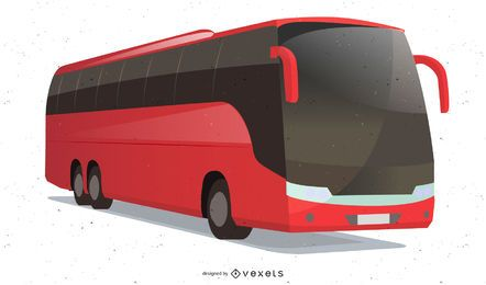 Vector de bus de lujo
