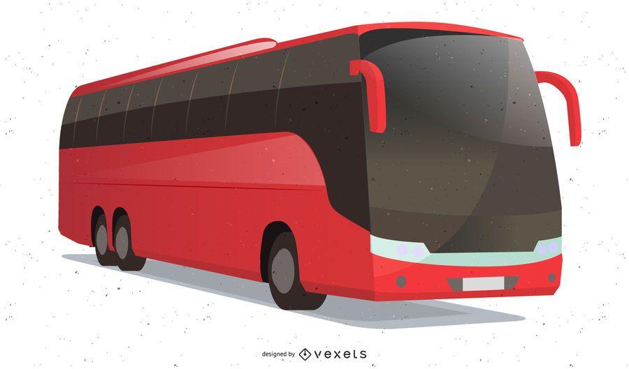 Vetor de ônibus de luxo