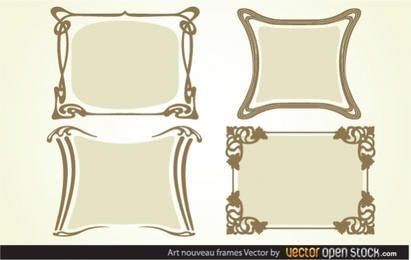Art nouveau Frames