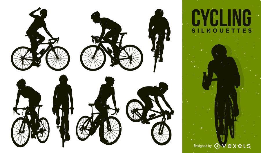 Paquete de bicicleta Silhouette