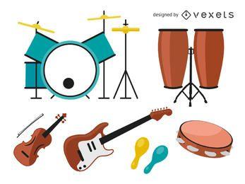 Musikinstrumentenpaket