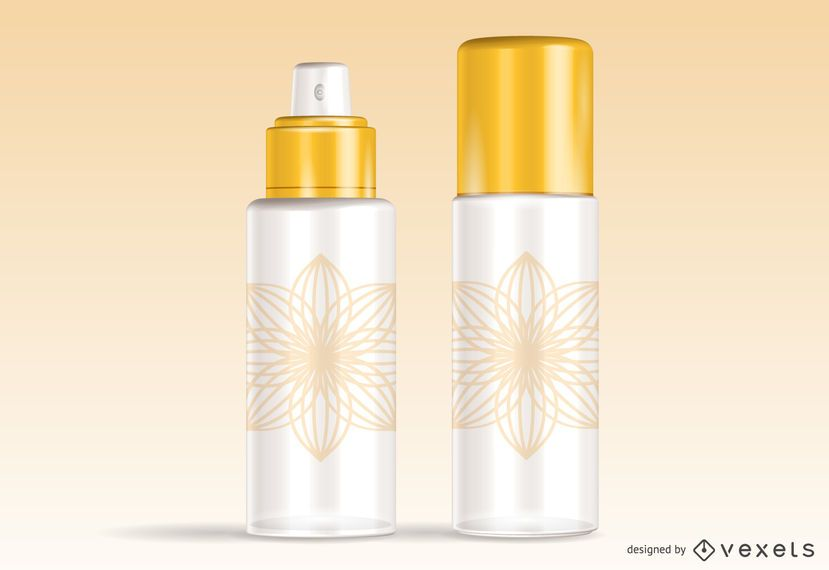 Spray Can 3D Vector Graphic