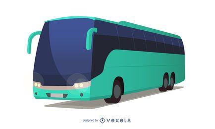 Autobús de la vía alta