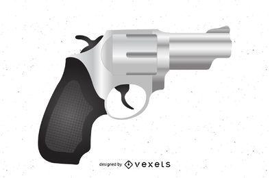 Pistole mit strukturiertem Griff