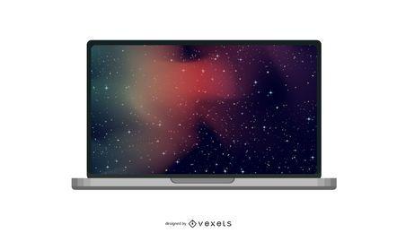 MacBook Air brilhante