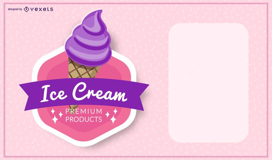 Ice-cream Flyer Template