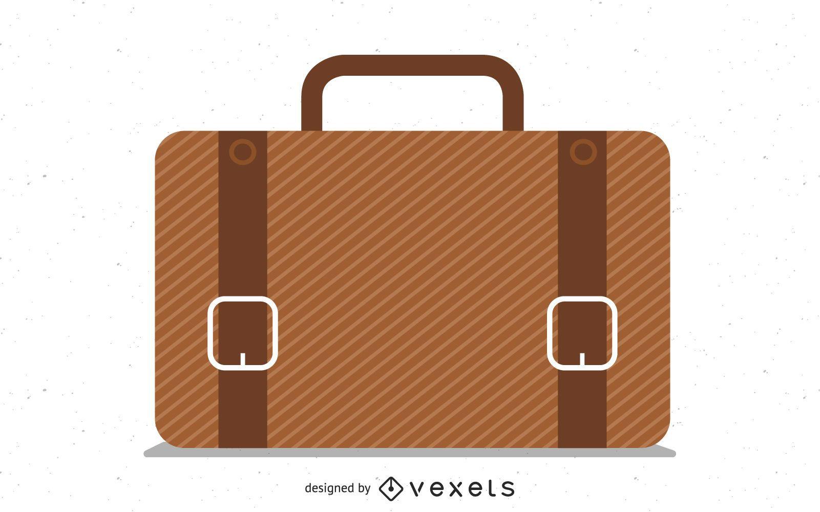 Icon Brown Briefcase