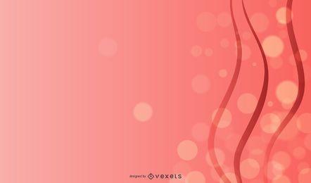 Layout de cartão de modelo de bolhas de rabisco