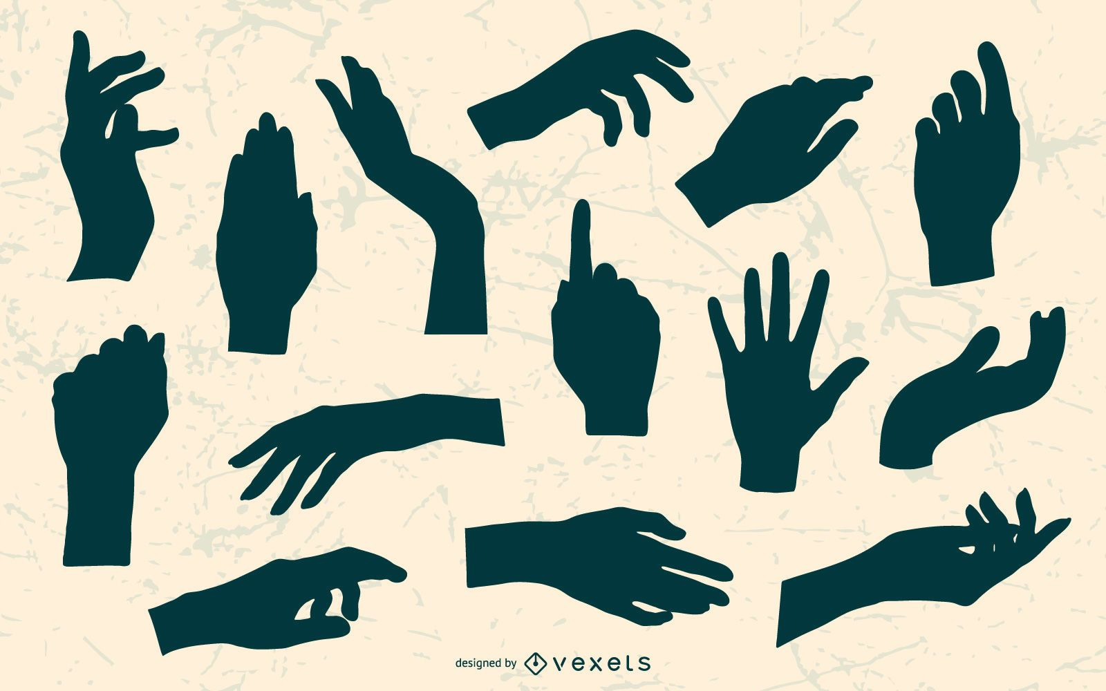 Hand Silhouettes Pack
