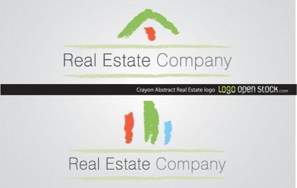 Crayon Abstract Real Estate