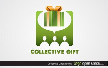 Kollektives Geschenk Logo