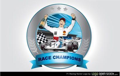 Vetor de corrida de f1