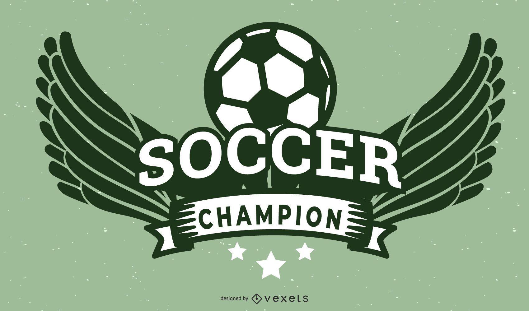 Soccer Champion Celebration