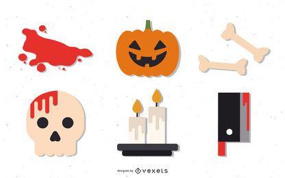 Paquete de kit de sitio de Halloween
