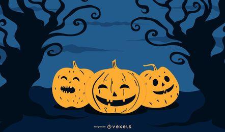 Halloween-Festlichkeits-Plakat