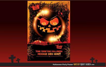 Festa do Dia das Bruxas Poster