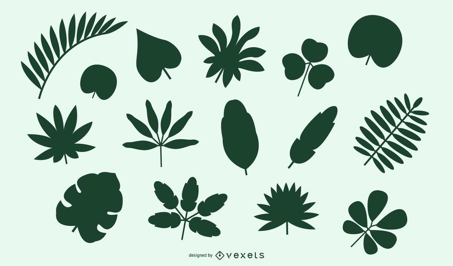Natural Leaves and Bushes Pack