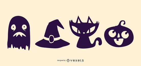 Halloween Funky Icon Set