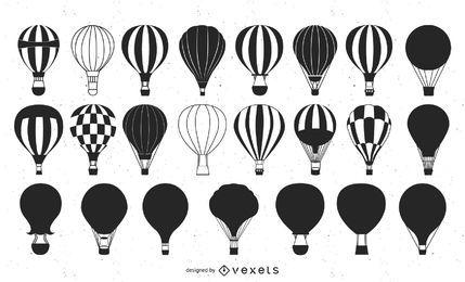 Paquete de varios globos de aire