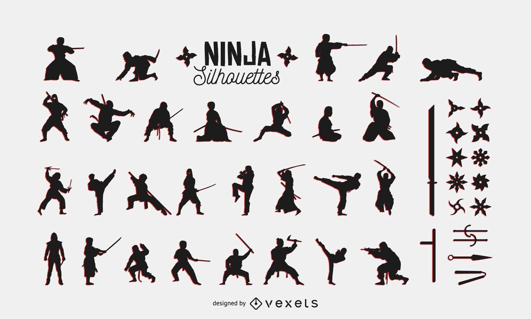 Ninja Pack Silueta
