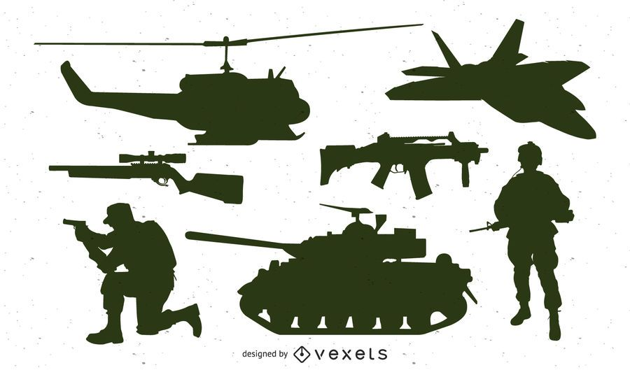 Military Units Silhouette Pack