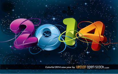 Buntes neues Jahr 2014