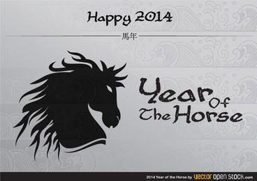 Ano 2014 do cavalo