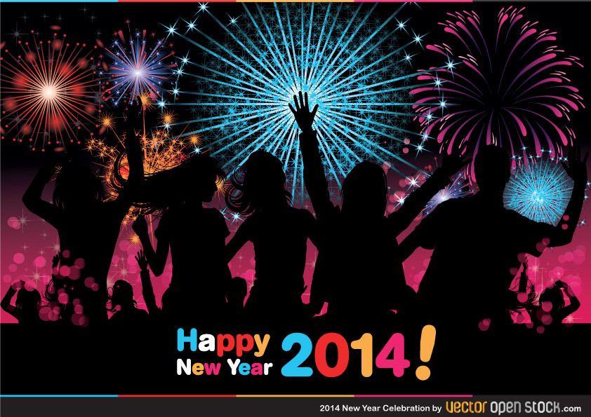 Celebraci?n del a?o nuevo 2014