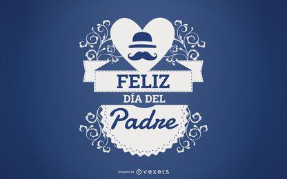 Feliz Dia Del Padre Background Design